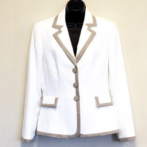 TAHARI Arthur S LeVine Professional Blazer Jacket